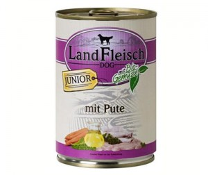Land fleish 400g junior indyk sensitive
