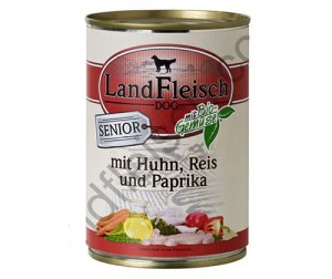 Land fleish 400g senior (drób/ryż/pap) sensitive