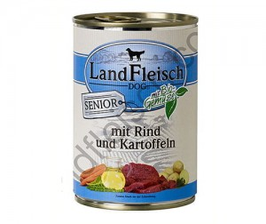 Land fleish 400g senior (woł/ziemniak) sensitive