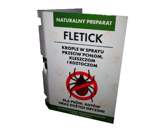 Krople FLETICK 2ml przeciw pchłom i kleszczom + blister